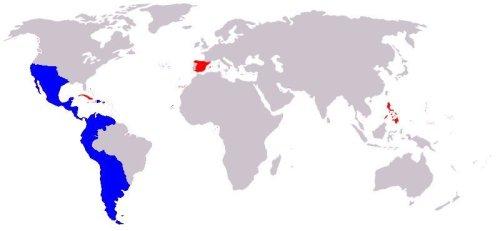 Imperio Español en su máxima expansión histórica