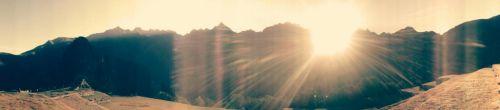 Amanece en Machu Picchu, que no es poco